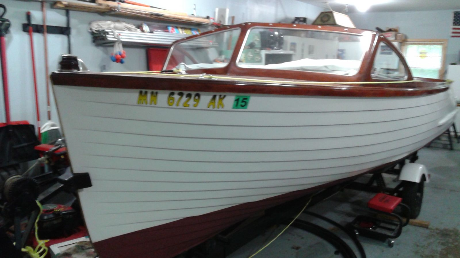 Lyman Ladyben Classic Wooden Boats For Sale