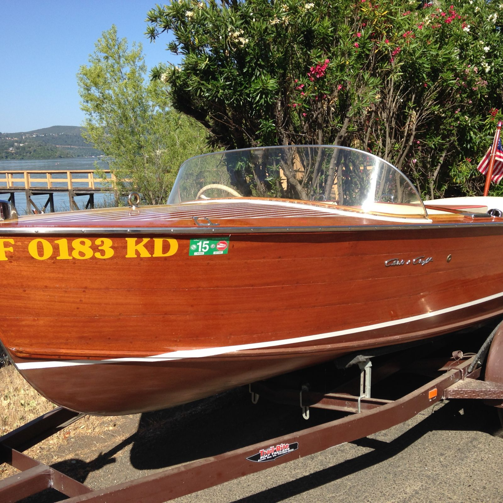 Chris Craft - LadyBen Classic Wooden Boats for Sale