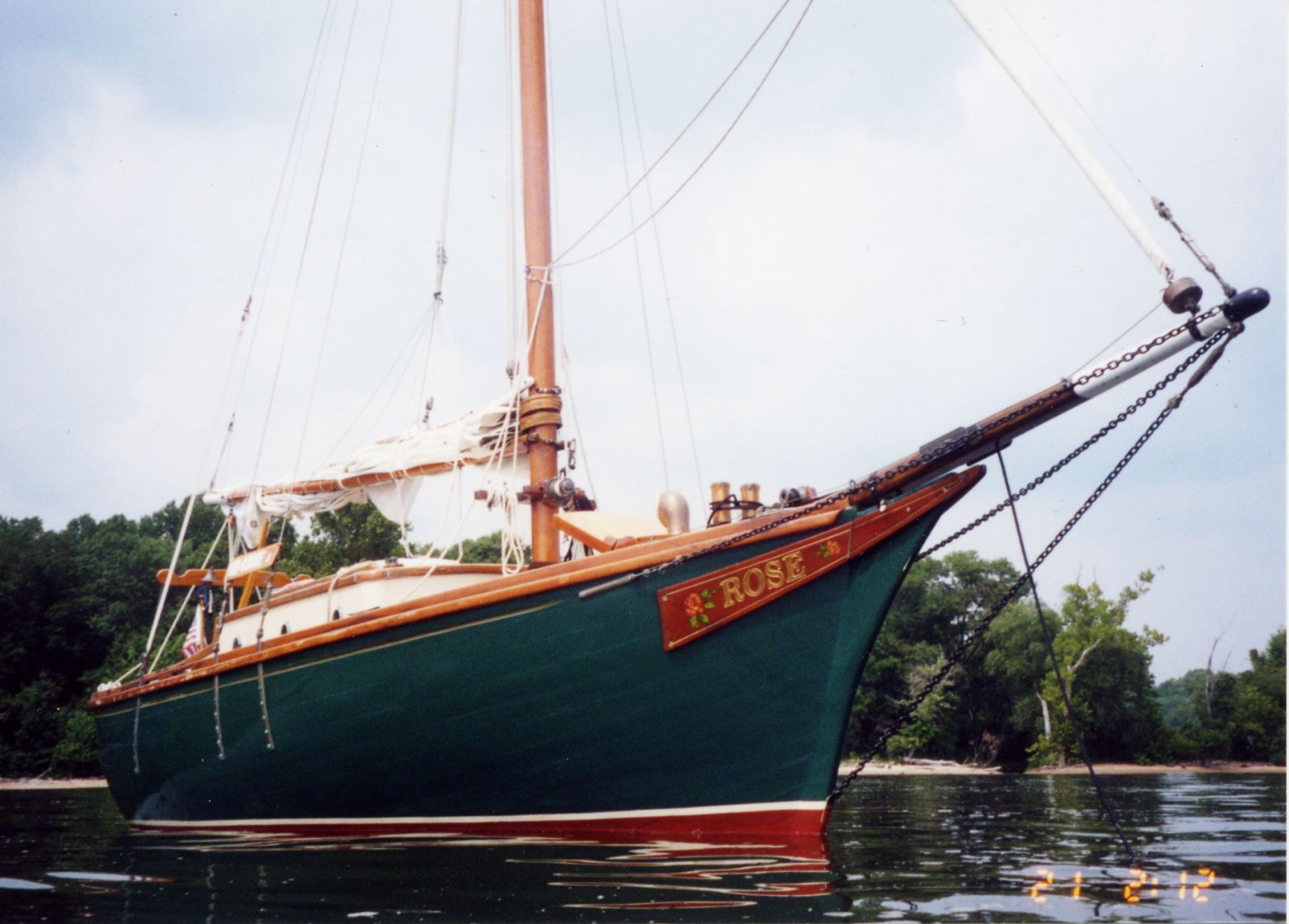 Atkins Ladyben Classic Wooden Boats For Sale