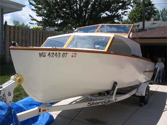 Glen-L - LadyBen Classic Wooden Boats for Sale