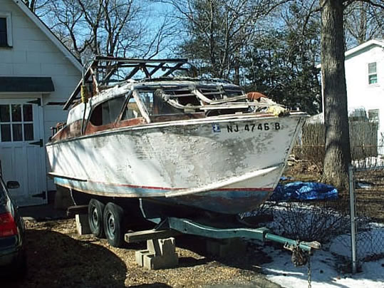 Owens - LadyBen Classic Wooden Boats for Sale
