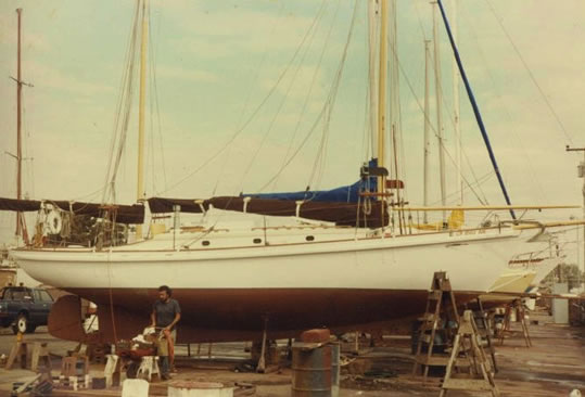 SS Crocker Sea Dawn - LadyBen Classic Wooden Boats for Sale