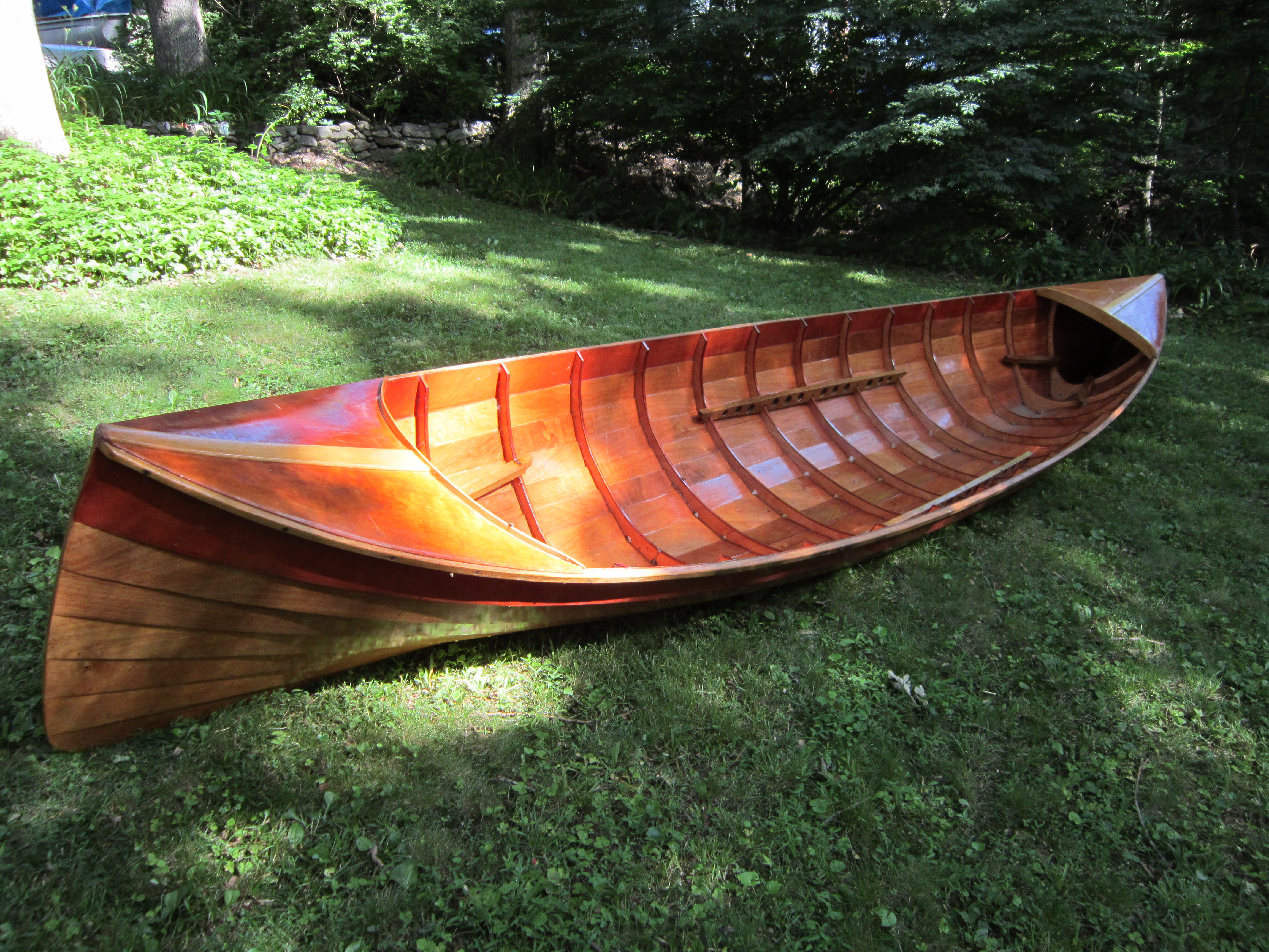 Adirondack Guide Boat - LadyBen Classic Wooden Boats for Sale