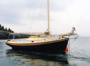 Sloop - LadyBen Classic Wooden Boats for Sale
